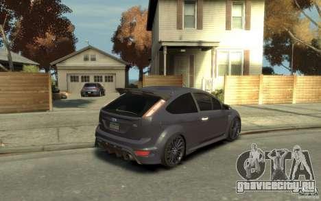 Ford Focus RS 2009 для GTA 4