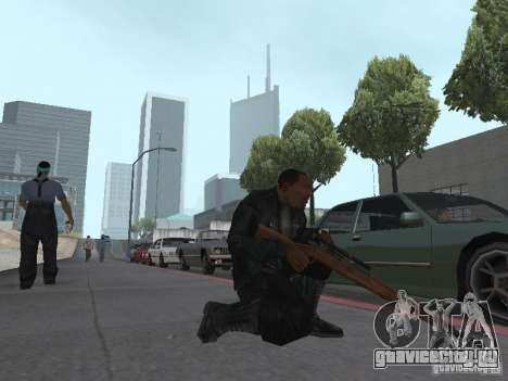 Springfield M1903 для GTA San Andreas четвёртый скриншот