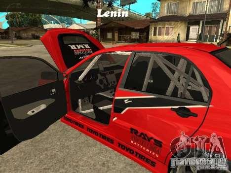 Mitsubishi Lancer Evolution IX Токийский Дрифт для GTA San Andreas