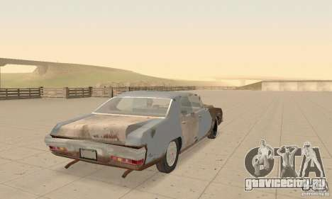 Pontiac LeMans 1970 Scrap Yard Edition для GTA San Andreas вид сбоку