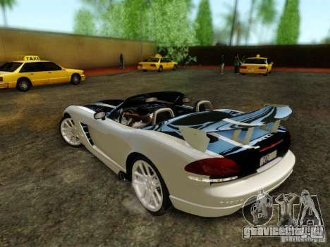 Dodge Viper SRT-10 Roadster ACR 2004 для GTA San Andreas
