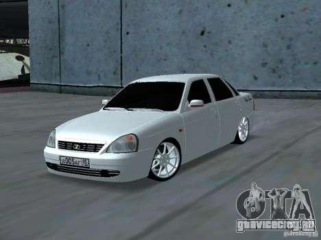 Lada Priora Adidas для GTA San Andreas