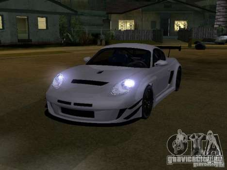 Porsche Cayman S NFS Shift для GTA San Andreas вид слева