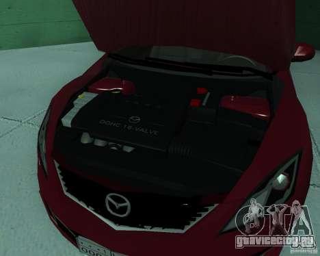 Mazda 6 2010 для GTA San Andreas вид справа