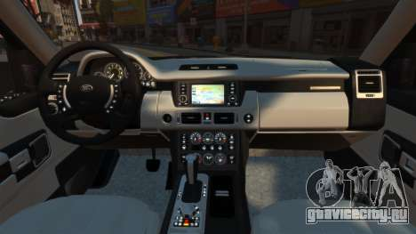 Range Rover Supercharged для GTA 4