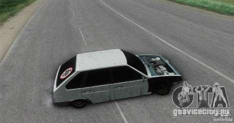 Ваз 2109 Бродяга для GTA San Andreas вид сзади слева