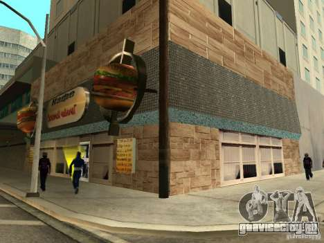 New Burgershot: Золотой ЧайничеГ для GTA San Andreas второй скриншот
