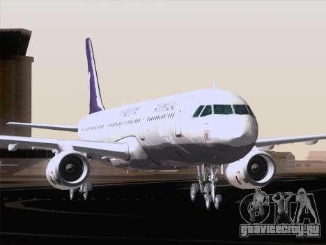 Airbus A321 Air Macau для GTA San Andreas вид снизу