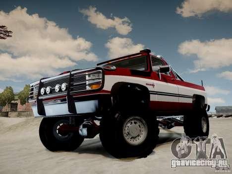 Rancher XL 3.0 для GTA 4 вид справа