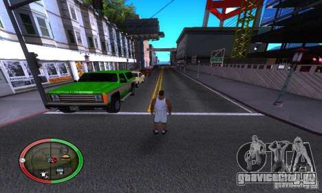 NEW STREET SF MOD для GTA San Andreas третий скриншот