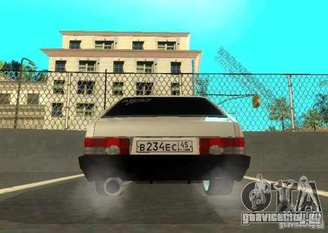 Ваз 2109 ак-47 для GTA San Andreas вид сбоку