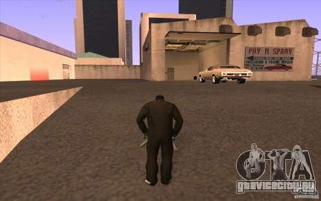 Все машины красятся + люди заходят в здания для GTA San Andreas