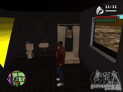 Ванная CJ для GTA San Andreas