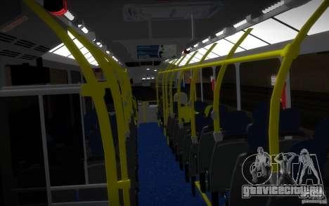 Marcopolo Viale BRT 0500M для GTA San Andreas вид изнутри