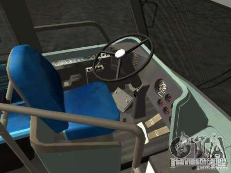 GMC RTS MTA New York City Bus для GTA San Andreas вид сзади