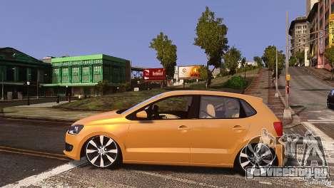 Volkswagen Polo для GTA 4 вид слева