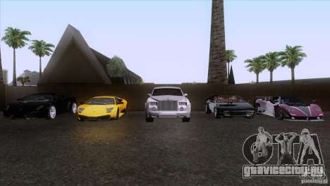 Rolls Royce Phantom Hamann для GTA San Andreas двигатель