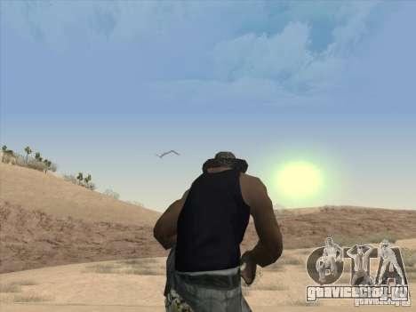 Красивые облака и многое другое для GTA San Andreas