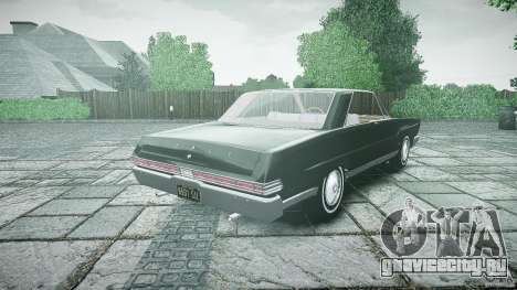 Ford Mercury Comet Caliente Sedan 1965 для GTA 4 вид сзади слева