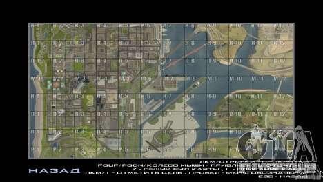 Map Mod v1.2 для GTA San Andreas второй скриншот