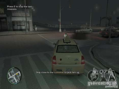 Миссия таксиста для GTA 4 для GTA 4 третий скриншот