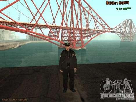 Sheriff Departament Skins Pack для GTA San Andreas второй скриншот