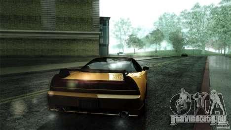 Honda NSX-R 2005 для GTA San Andreas вид сзади