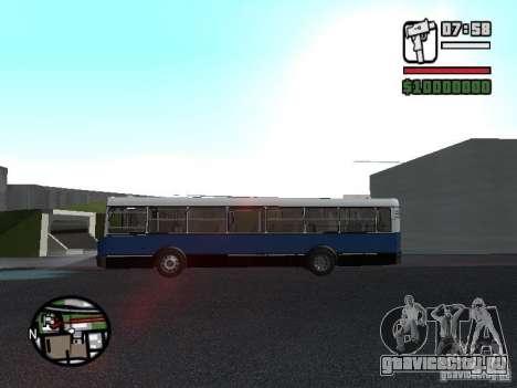 Ikarus 415.02 для GTA San Andreas вид сзади