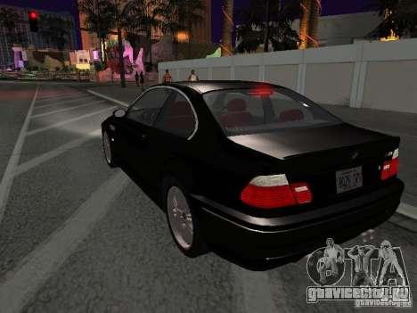 BMW M3 GT-R Stock для GTA San Andreas вид сбоку
