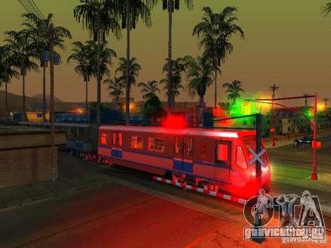 Новый Cигнал Поезда для GTA San Andreas шестой скриншот