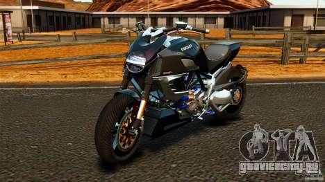 Ducati Diavel Carbon 2011 для GTA 4