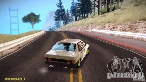 Ваз 21099 Бродяга для GTA San Andreas вид справа