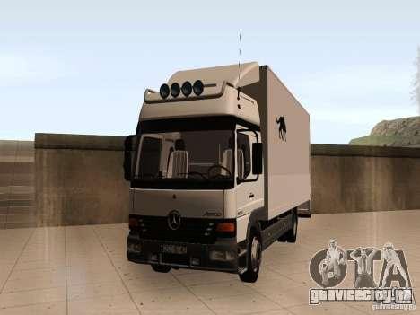 Mercedes-Benz Atego для GTA San Andreas
