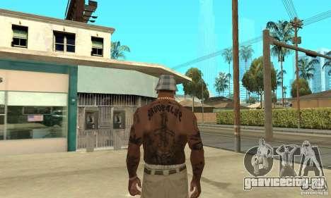 Tattoo mod для GTA San Andreas четвёртый скриншот