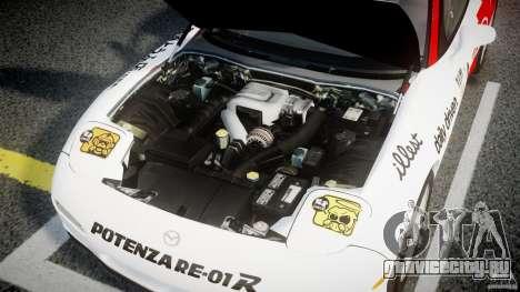 Mazda RX-7 1997 v1.0 [EPM] для GTA 4 вид сверху