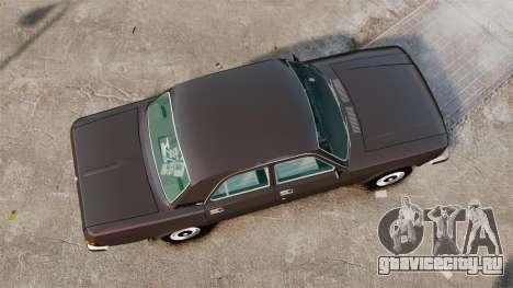 ГАЗ-3102 для GTA 4 вид справа