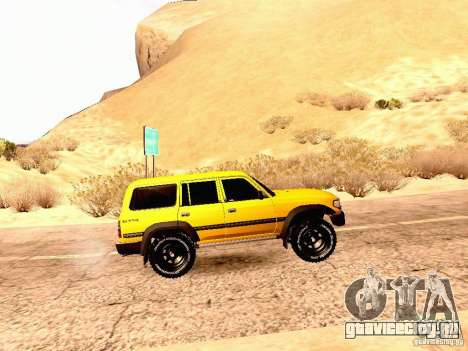 Toyota Land Cruiser 80 Off Road Rims для GTA San Andreas вид слева