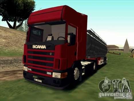 Scania 114L для GTA San Andreas вид слева