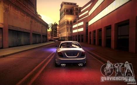 Mercedes Benz CL65 AMG для GTA San Andreas двигатель