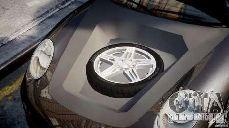 Porsche 911 Turbo для GTA 4 вид сзади