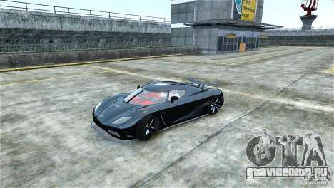 Koenigsegg Agera R для GTA 4 вид слева