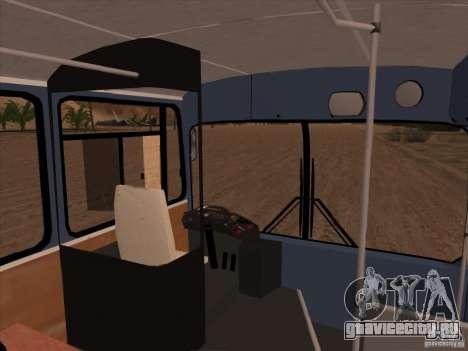 MAN SL200 Exclusive v.1.00 для GTA San Andreas салон