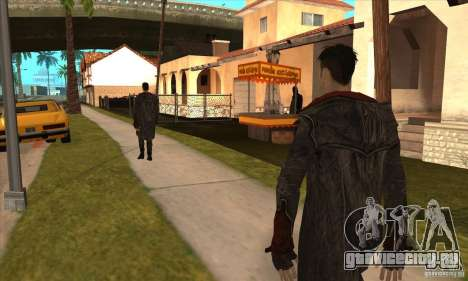 Dante из Devil May Cry для GTA San Andreas четвёртый скриншот