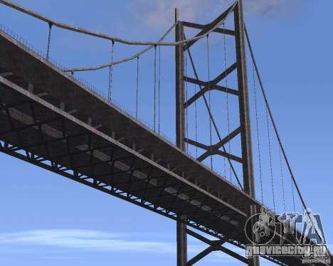Новые текстуры трёх мостов в SF для GTA San Andreas девятый скриншот