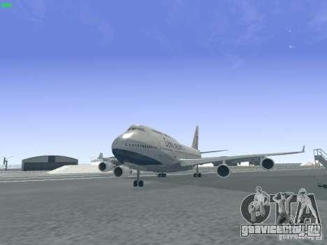 Boeing 747-400 China Airlines для GTA San Andreas