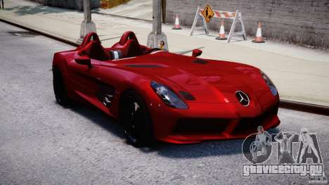 Mercedes-Benz SLR McLaren Stirling Moss [EPM] для GTA 4 вид сзади