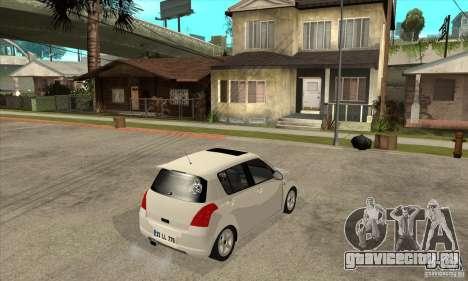 Suzuki Swift 4x4 CebeL Modifiye для GTA San Andreas вид справа