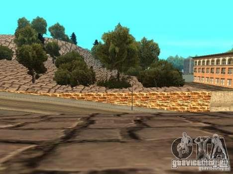 Каменная гора для GTA San Andreas девятый скриншот