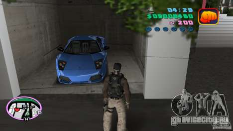 50 Cent Player для GTA Vice City второй скриншот