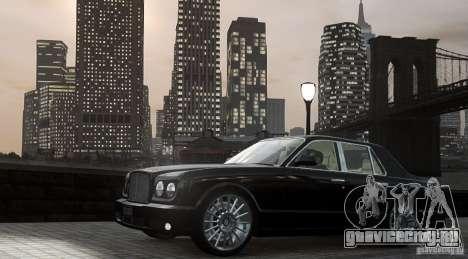 Bentley Arnage T v 2.0 для GTA 4 вид слева
